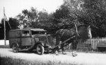 Hyléns brödbil under kriget.