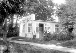 Matilda Månsons ateljé på Sjögatan i Falsterbo.