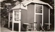 Kiosk på Falsterbo station 1937.