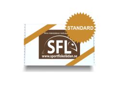presentkort sportfiskelådan standard med nya billiga fiskedrag av hög kvalite