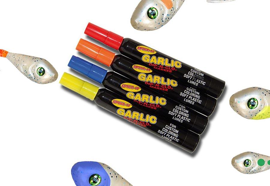 färgpennor till fiskedrag