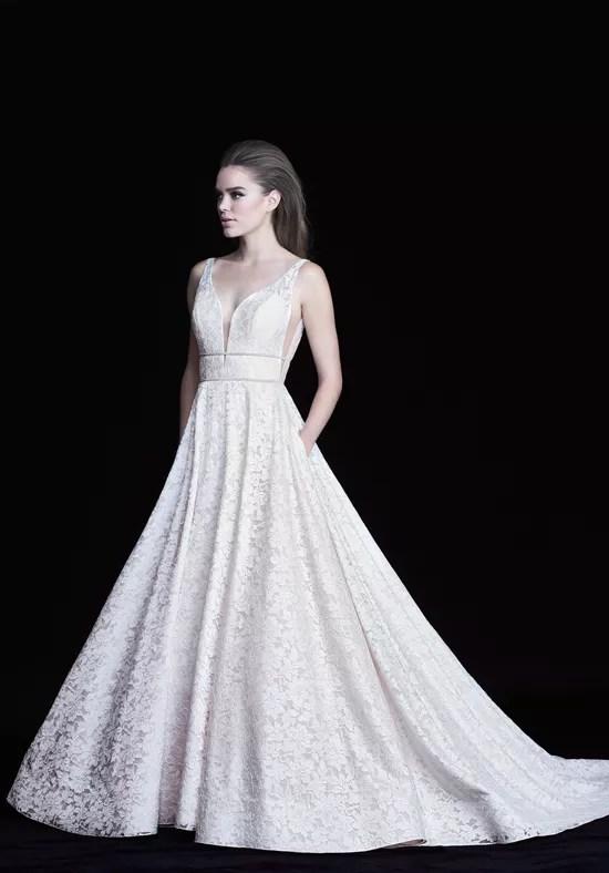 Paloma Blanca 4754 Wedding Dress The Knot