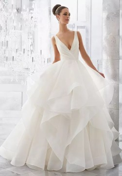 Morilee by Madeline Gardner Blu Milly   5577 Wedding Dress   The Knot Morilee by Madeline Gardner Blu Milly   5577 Ball Gown Wedding Dress