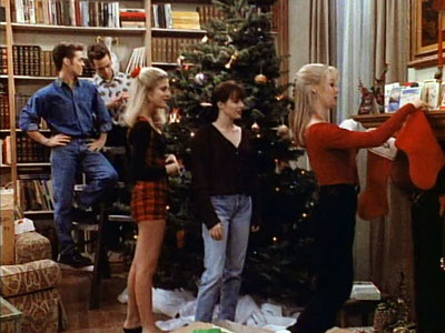 beverly hills 90210 a walsh family christmas 1991