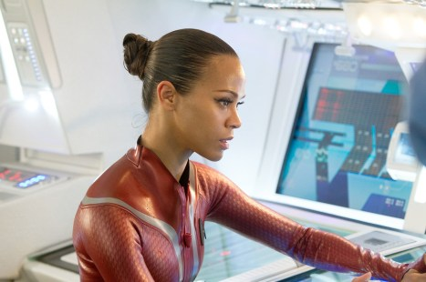 Star Trek: Into Darkness Zoe Saldana as Uhura