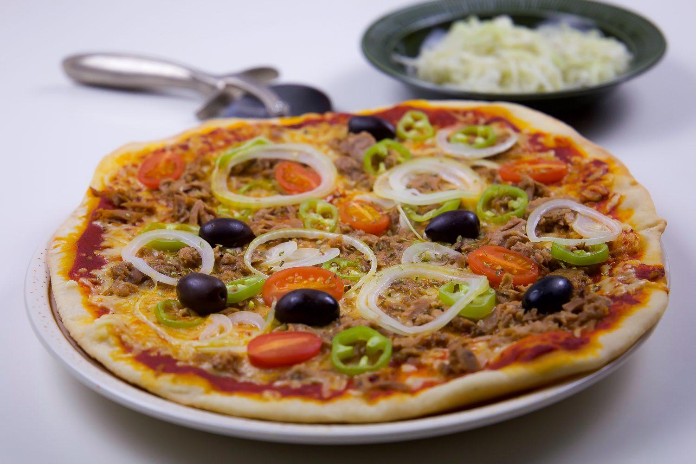 tunn pizzadeg recept