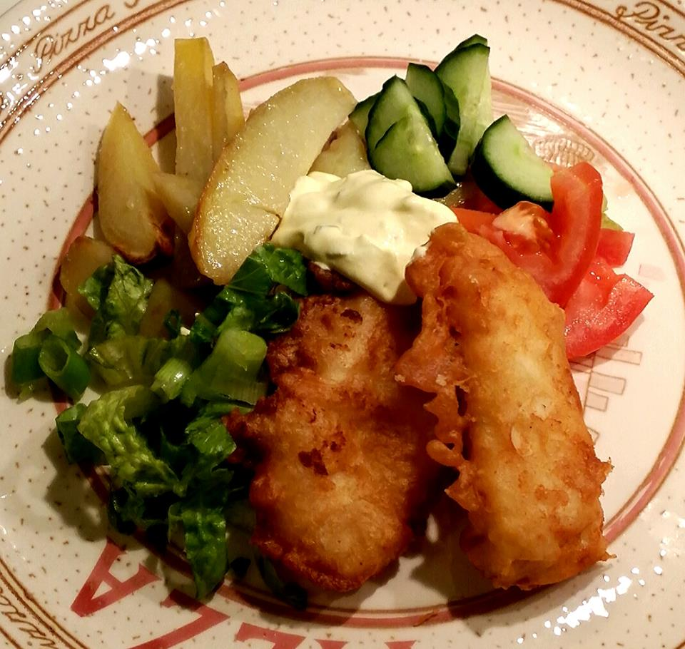 Tiny Kitchen Fish And Chips: Fish And Chips Med Remouladsås
