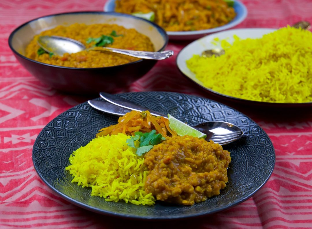 indiskt ris recept