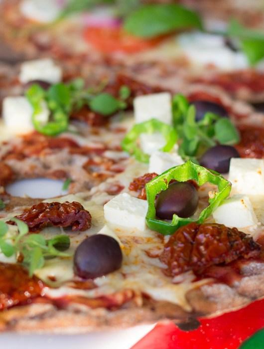 knäckepizza