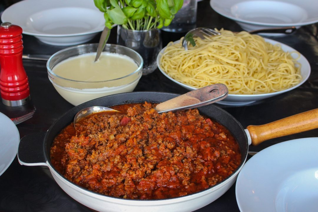 köttfärssås med ostsås-4