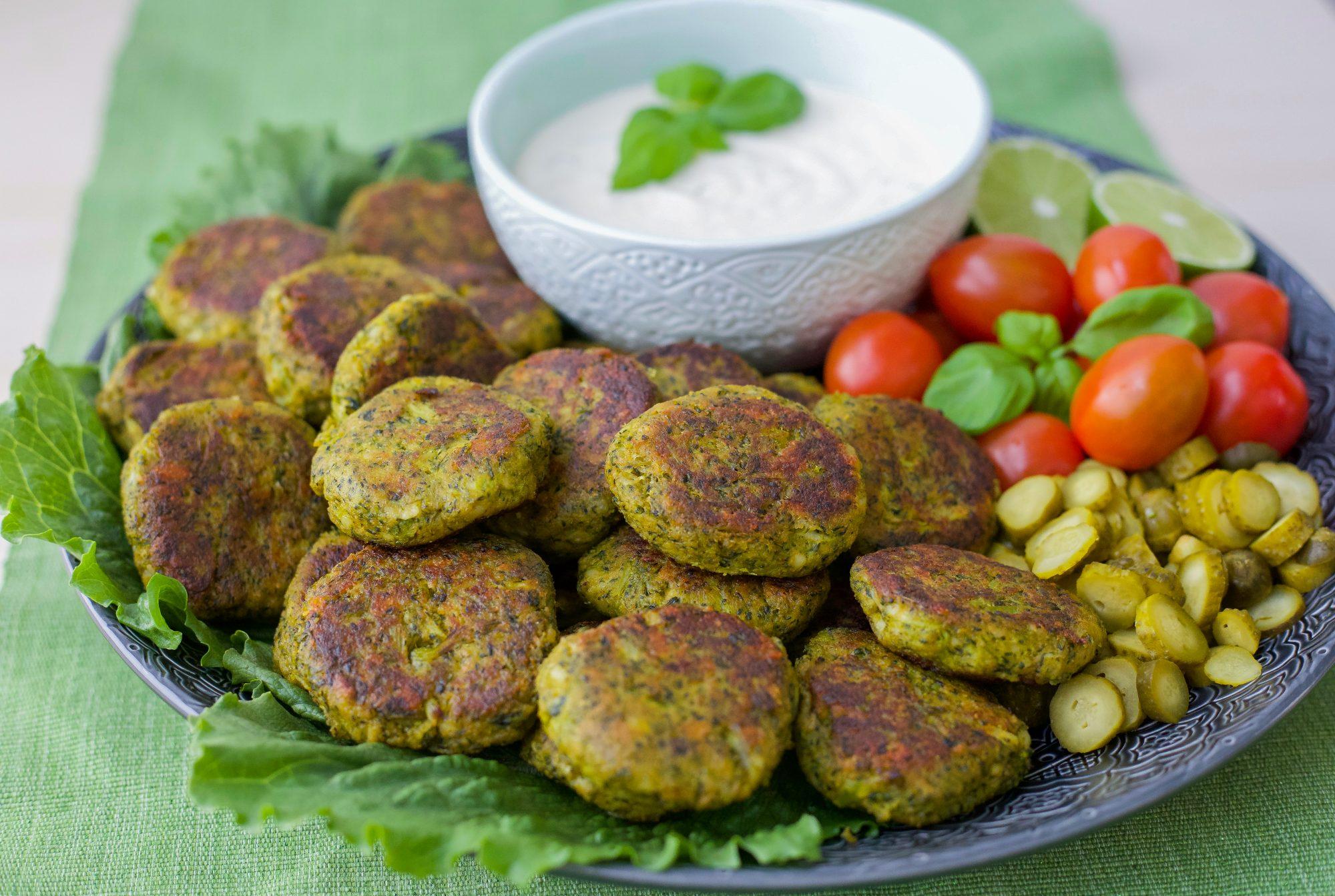 vegetariska grönsaksbiffar recept