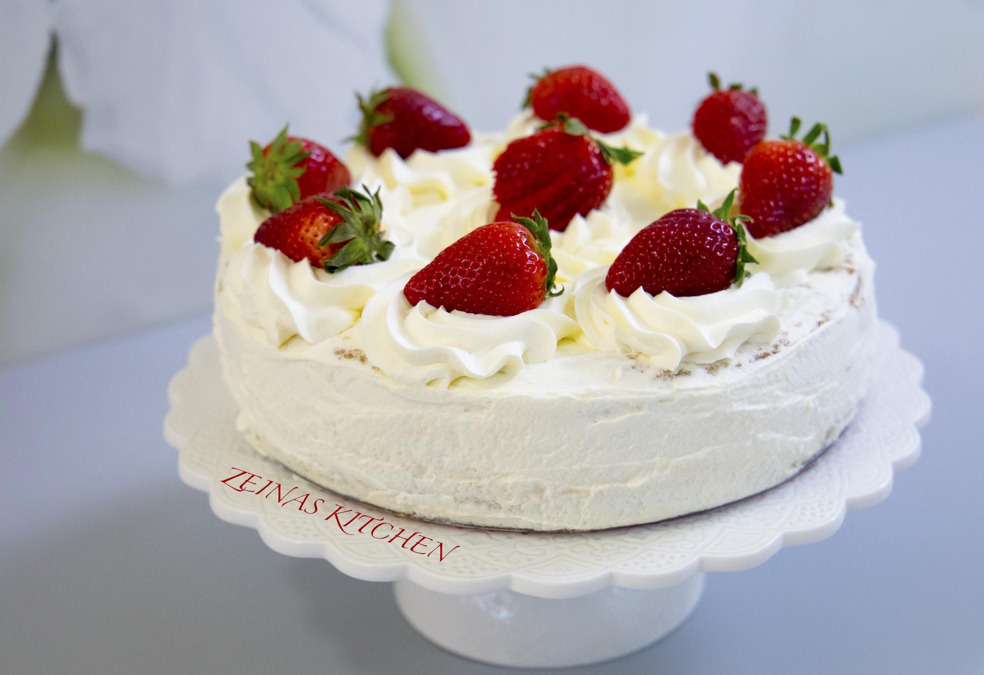 tårta med bild