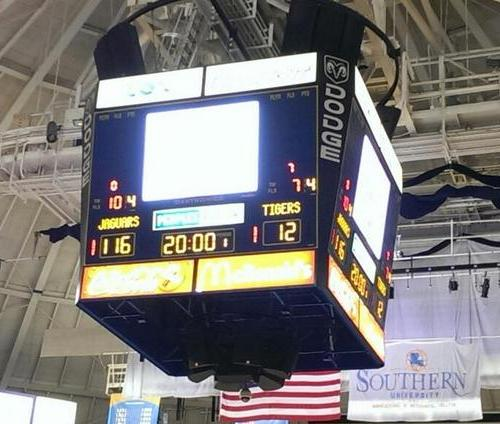 Photo of the final score via @SUJagAlum