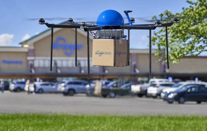Need a snack on the go? Kroger tests drone delivery program in Ohio that could help