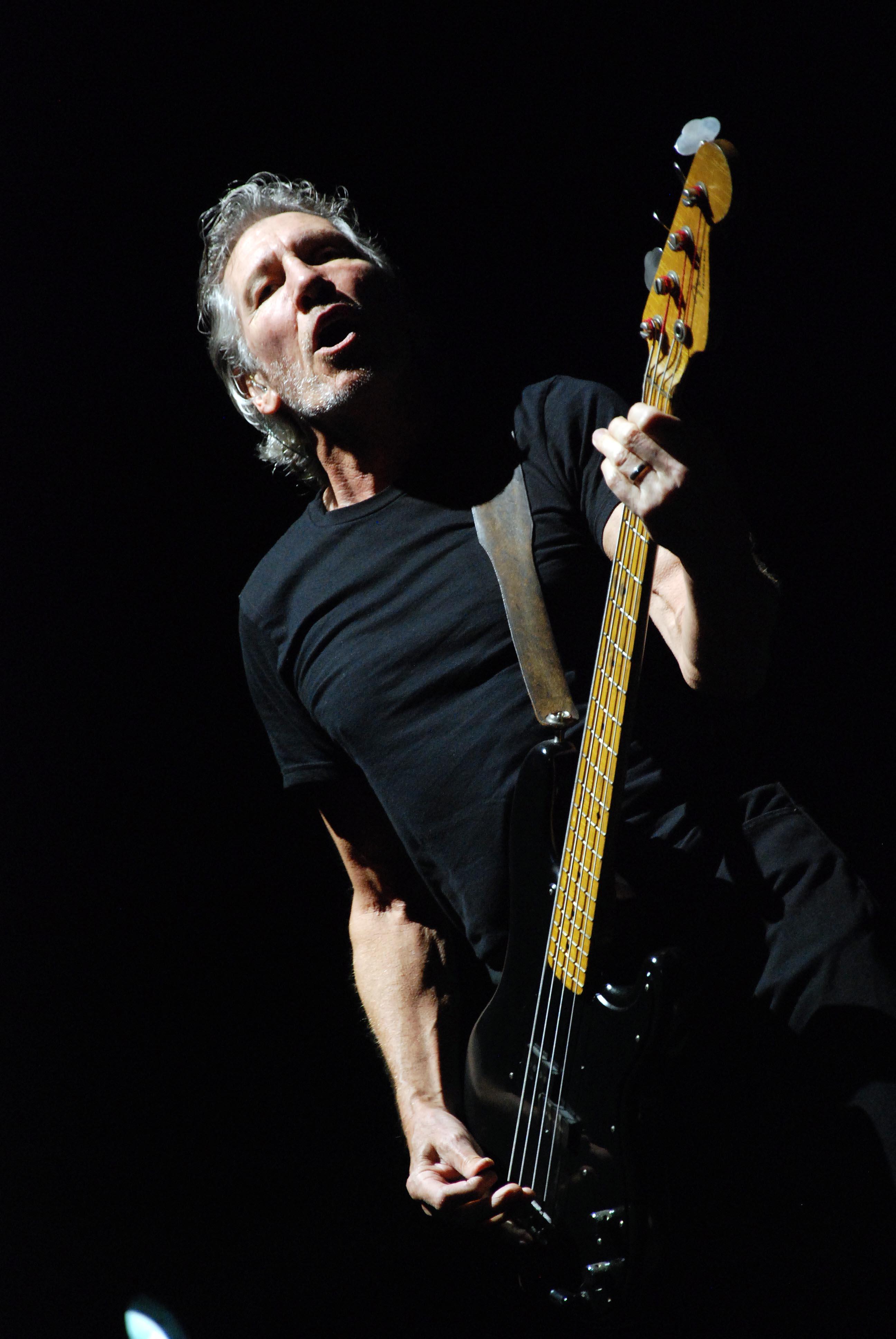 Roger Waters en Buenos Aires.