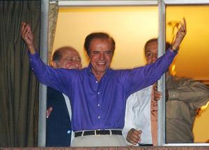"""La década del '90 fue un """"suelo fértil"""" para la corrupción (AP)"""