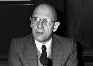 Foucault, en 1981, en Francia (AP)