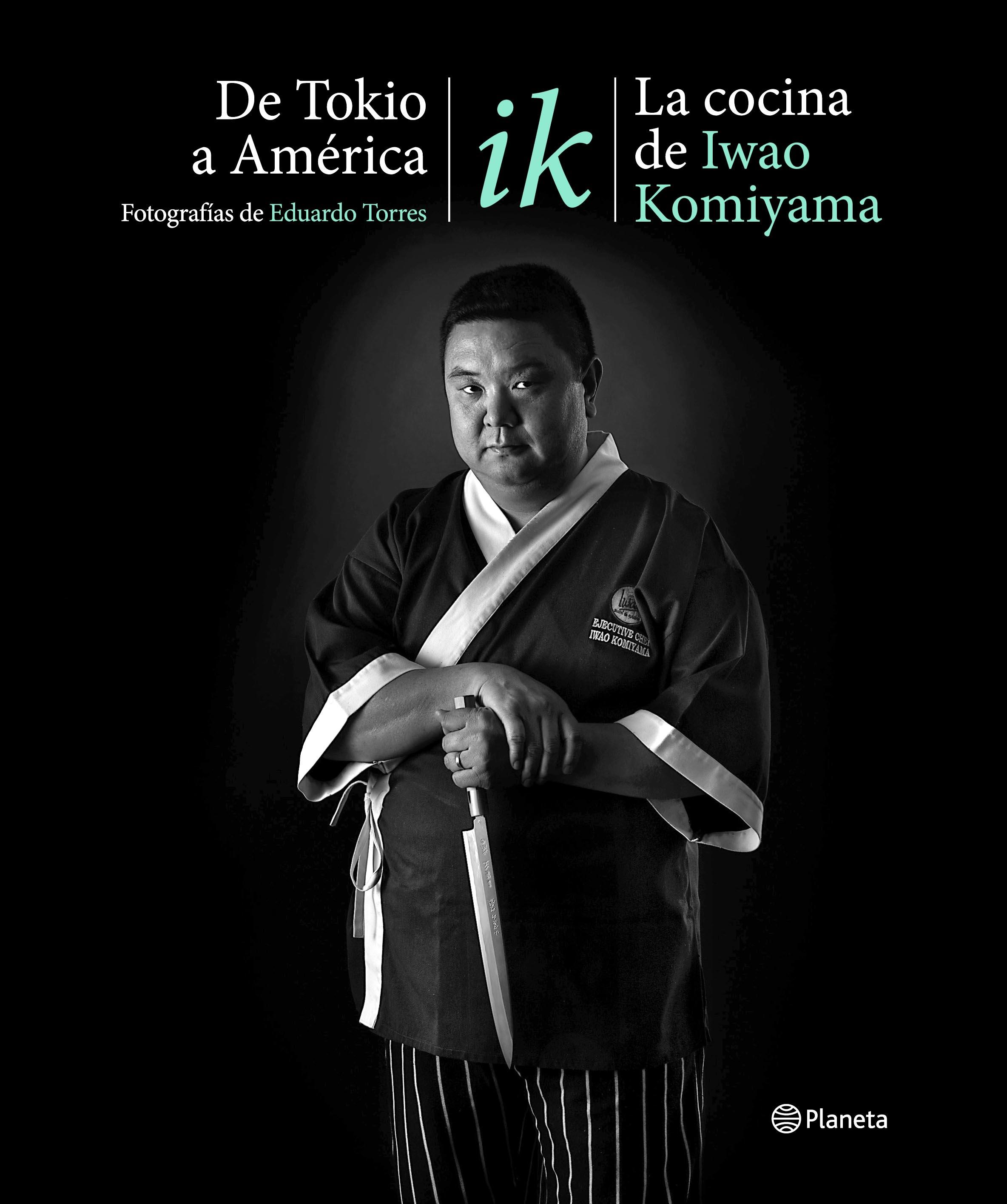 """La portada del último libro de Iwao Komiyama, """"De Tokio a América"""", editado por Planeta."""