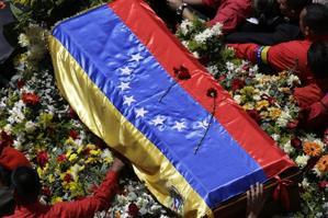 El masivo funeral de Chávez (Reuters)