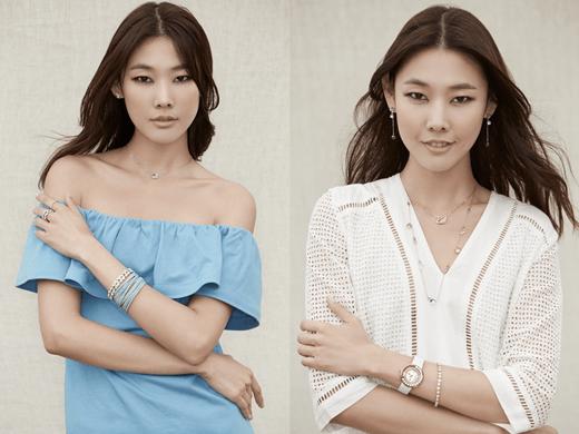 Korea's top models