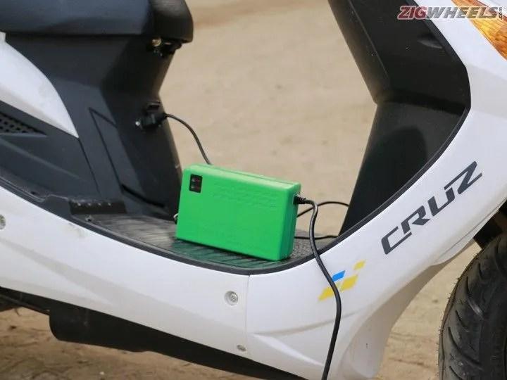 Hero Electric Cruz: Electric Charger