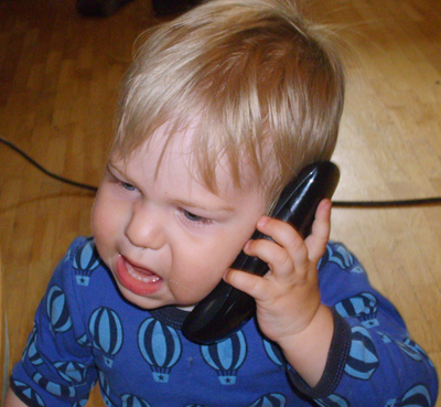 Calling tech support
