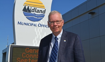 Midland Mayor Gord McKay.