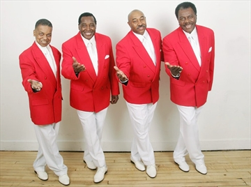 The Drifters, featuring Rick Sheppard (second from left), will be playing the Midland Cultural Centre on Aug. 18.