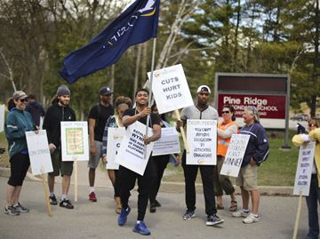 Universities scramble to deal with high school strikes