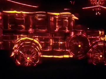 The Fabulous Fords is one of the many intricate pumpkin displays included in the Pumpkinferno event at Penetanguishene's Discovery Harbour.