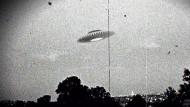 Ufo-Erscheinung über der australischen Stadt Melbourne im Frühjahr 1966.