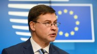 EU-Handelskommissar Dombrovskis über den Handel mit China und neue Abkommen