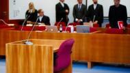 Schwurgerichtssaal im Landgericht Bonn.