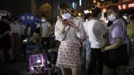 Mutmaßlicher Ground Zero: Besucher auf einem Tiermarkt in Wuhan im Juni