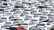 Im Arbeitgeberverband Gesamtmetall ist der schwache Absatz von Fahrzeugen ein drängendes Thema.