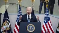 Joe Biden bei seiner Rede in Philadelphia