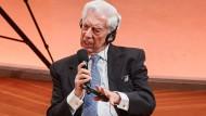 Mario Vargas Llosa, Schriftsteller und Literaturnobelpreisträger