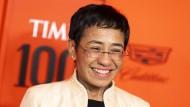 Mutige Journalistin: Maria Ressa, die Chefin des philippinischen Online-Nachrichtenportals Rappler