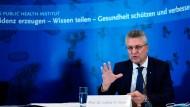 Überbringer der schlechten Nachrichten: RKI-Chef Lothar Wieler am Donnerstag
