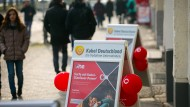 Werbung für Kabel Deutschland