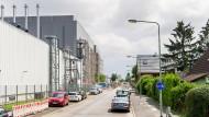 Ungeliebte Nachbarschaft: Blick ins Wohngebiet an der Gelastraße.