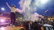 Aufgebracht: Wieder haben Frauen in Warschau gegen die Verschärfung des Abtreibungsverbots demonstriert.
