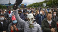 Proteste am Sonntag in Minsk