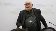 Kardinal Reinhard Marx während des viertägigen Anti-Missbrauchsgipfels der katholischen Kirche in Rom