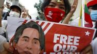 Myanmar: Anklage gegen Aung San Suu Kyi erweitert