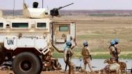 Soldaten der UN-Blauhelmmission Minusma im Juli 2019 in Mali.
