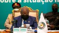 Machtwort in Richtung Mali: Der Präsident Ghanas als Vorsitzender der ECOWAS-Tagung am vergangenen Wochenende