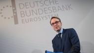 Jens Weidmann, Präsident der Deutschen Bundesbank, auf einer Bilanz-Pressekonferenz.