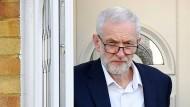 Labour-Chef Jeremy Corbyn an Mittwoch in London.