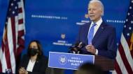 Angst vor Weihnachtswelle: Biden warnt Amerikaner vor 250.000 weiteren Corona-Toten